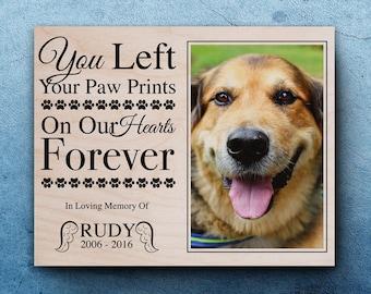 Pet Memorial Frame, Pet Loss Gifts, Dog Sympathy, Pet Memorial Frames For Dogs, Pet Memorial Picture Frame, Personalized Dog Memorial Frames