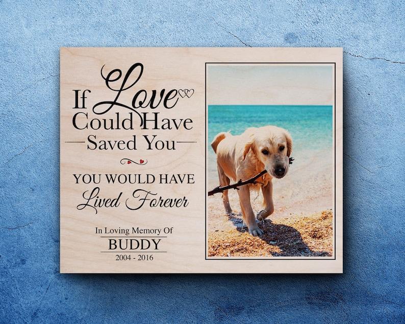 Pet Memorial Gift For Pet Loss In Memory Of Dog Dog image 1