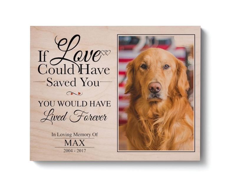 e2ebb93a779f Dog Memorial Gift Pet Memorial Frame Pet Loss Gift Pet