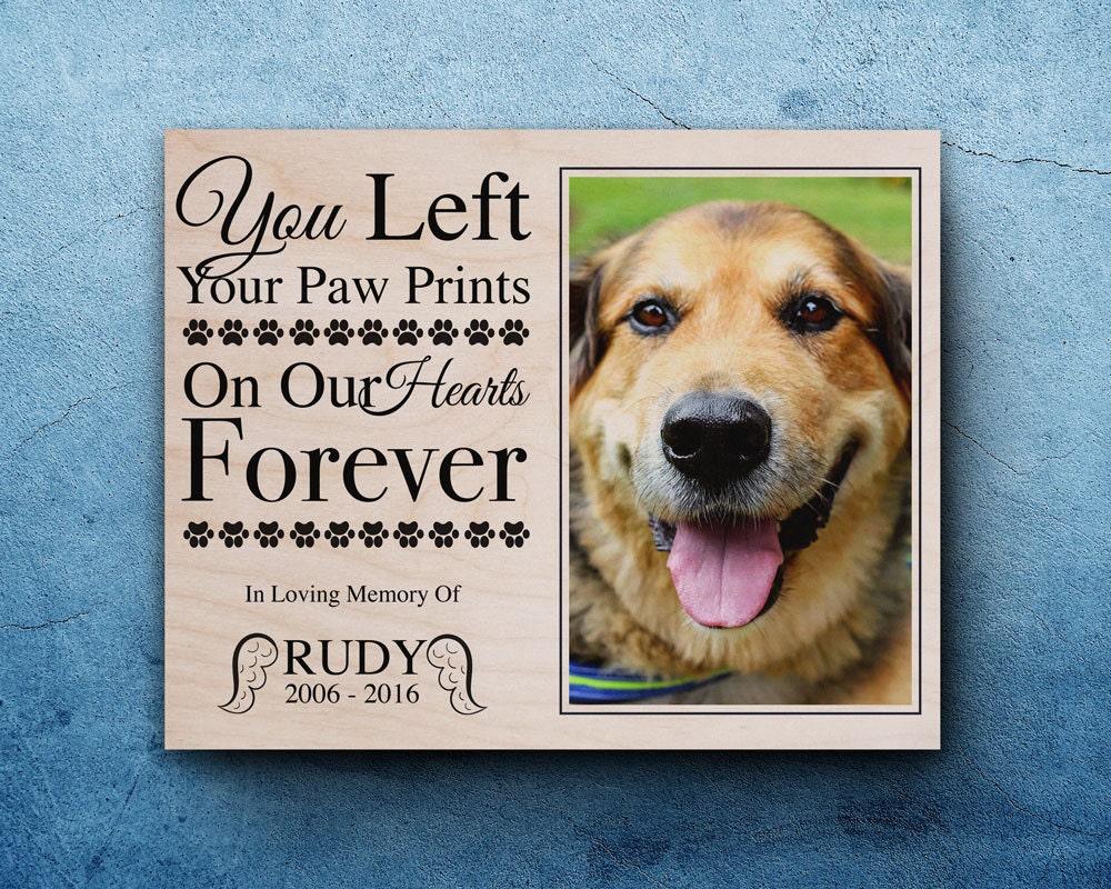 Pet Memorial Frame Pet Loss Gifts Dog Sympathy Pet