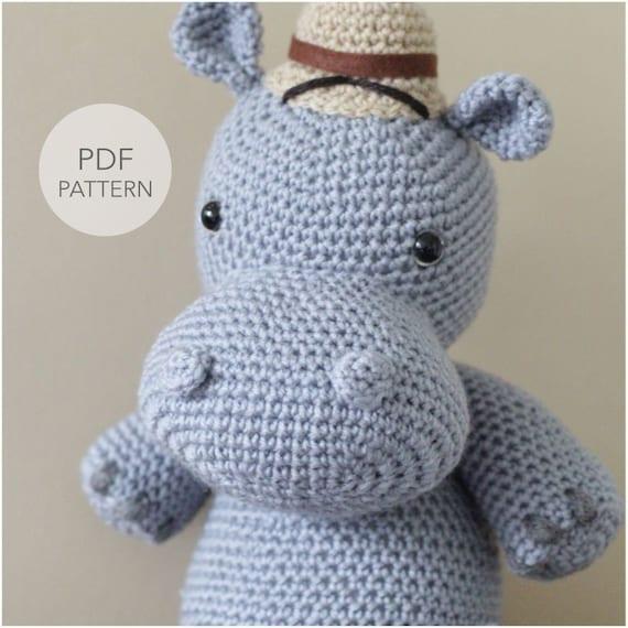 Cuddle Me Hippo amigurumi pattern - Amigurumi Today | 570x570