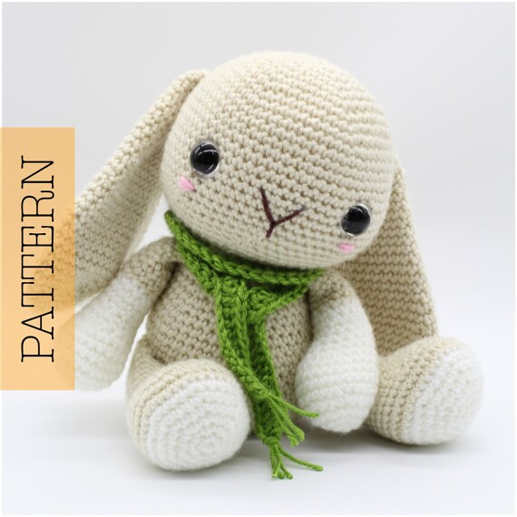 Crochet Amigurumi Gingerbread Man PATTERN ONLY Christmas