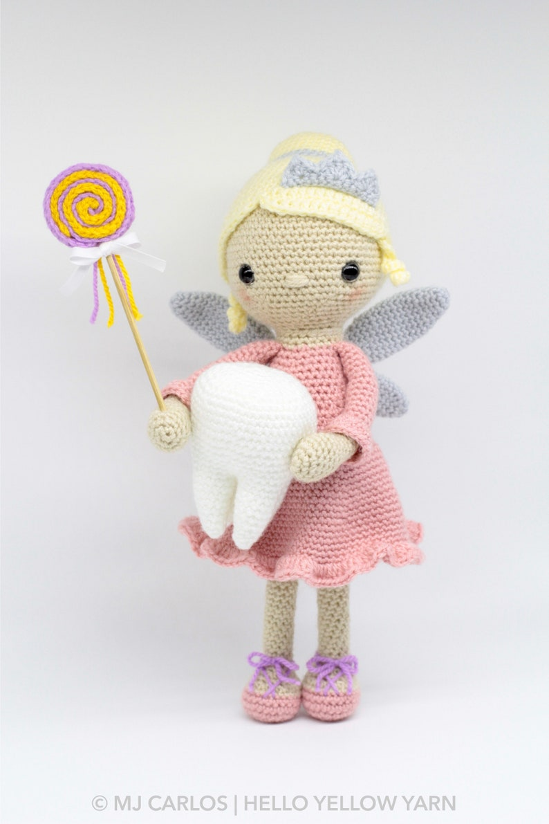 Crochet Tooth Fairy, Free Crochet Patterns Collection | Crochet ... | 1191x794