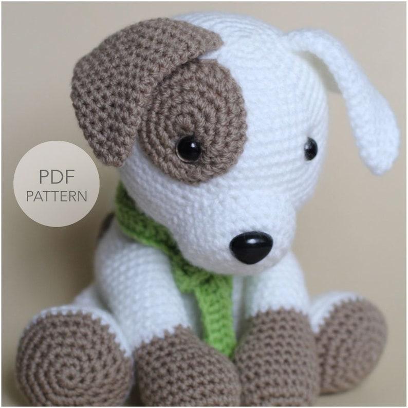 Crochet Amigurumi Puppy Dog PATTERN ONLY Jack Pup pdf image 0