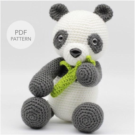 Adorable Panda Bear Amigurumi FREE Crochet Pattern   570x570