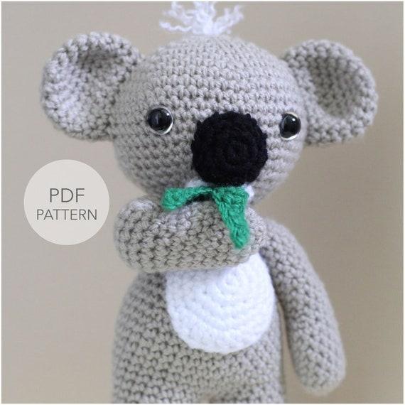 Crochet Koala pattern. Amigurumi koala | Crochet baby toys, Bear ... | 570x570