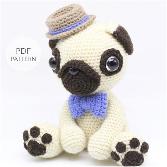 Baby Pug Dog amigurumi pattern - Amigurumi Today | 570x570