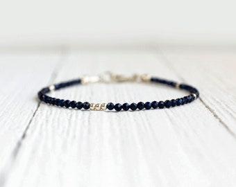 Sapphire Bracelet - September Birthstone