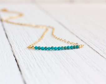 Turquoise Necklace - December Birthstone