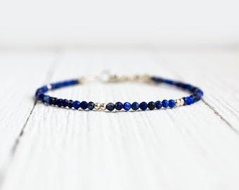Lapis Lazuli Bracelet - September Birthstone