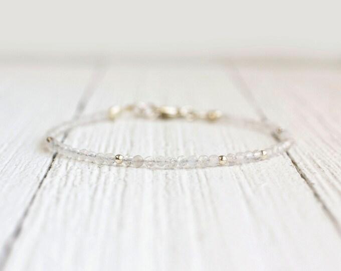 Featured listing image: Moonstone Bracelet - June Birthstone