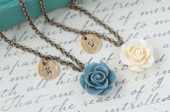 Wedding Gifts For Women: Bridesmaid Gift Personalized Womens Romantic Wedding