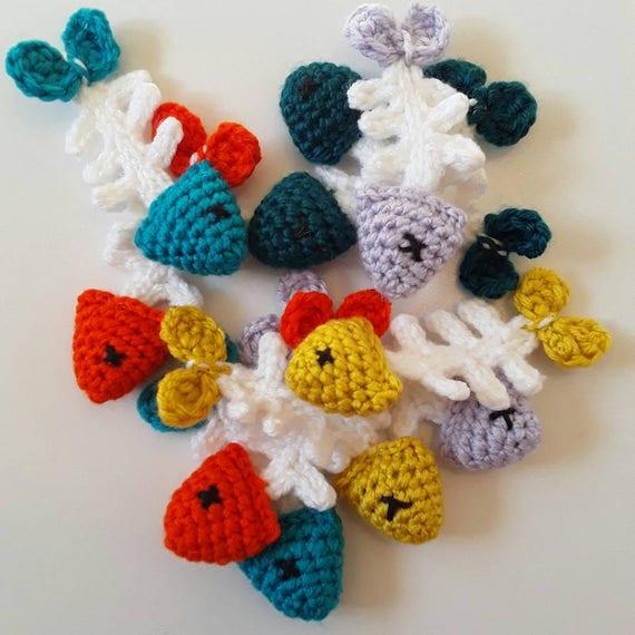 No Bones About Itad Fish Cat Toy Crochet Pattern Pet Etsy