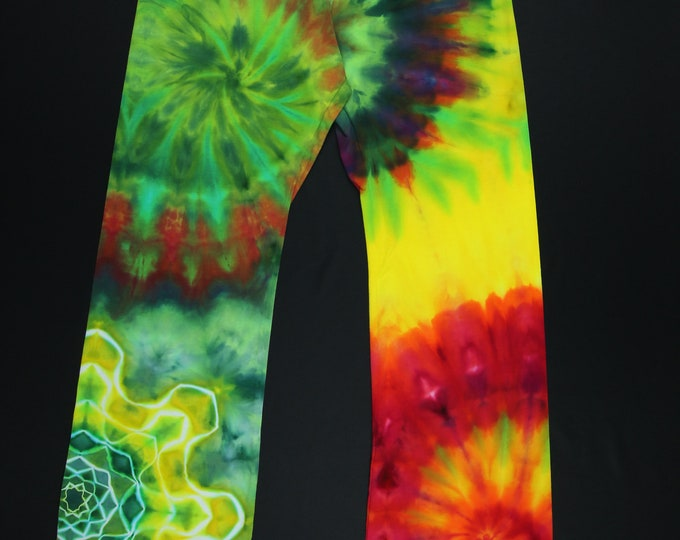 Tie Dye Yoga Pants | XL Yoga Pants