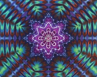 Large Tie Dye Tapestry