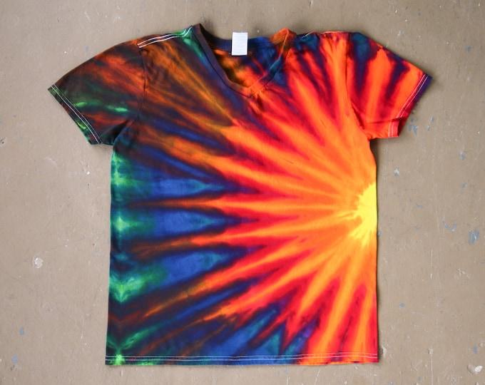 Tie Dye Shirt   Medium Tie Dye Shirt, Adult Medium, V Neck Shirt, V Neck Tie Dye, Unisex T Shirt, Festival Shirt, Festival Wear, Boho Chic