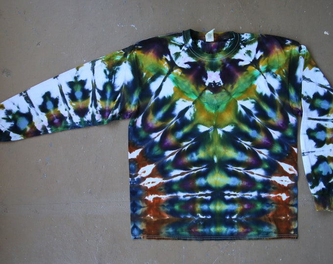 Tie Dye Shirt | Extra Large Long Sleeved