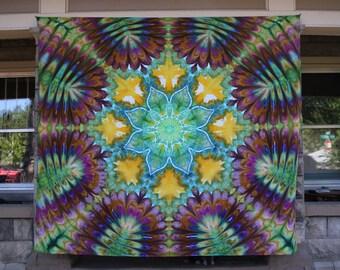 Large Tie Dye Tapestry | Mandala Tapestry