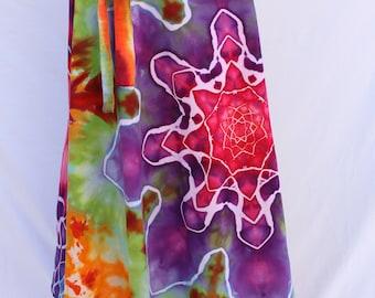 Tie Dye Skirt | Wrap Skirt