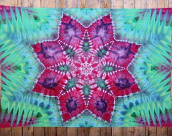 Large Tie Dye Tapestry | Wall Tapestry