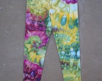 Tie Dye Leggings   Large Leggings, Yoga Leggings, Yoga Pants, Hippie, Festival, Boho Yoga Leggings, Boho Pants, Bohemian, TieDye, Large