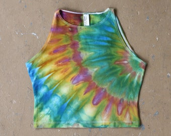 Tie Dye Crop Top | Medium