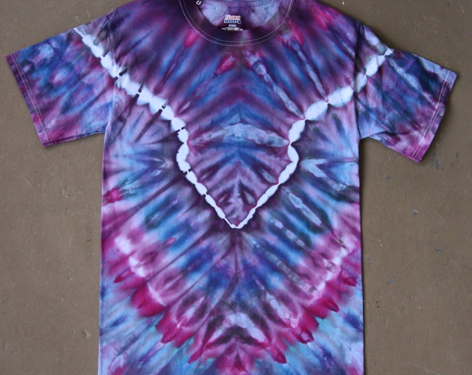 Tie Dye Shirt | Small Tie Dye, Adult Small Shirt, Adult Small Tie Dye, Rainbow Tie Dye, Festival Wear, Unisex Adult Small, Bright, Camping