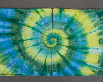 Tie Dye Pillowcase Set