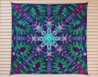 Tie Dye Tapestry | Mandala Tapestry