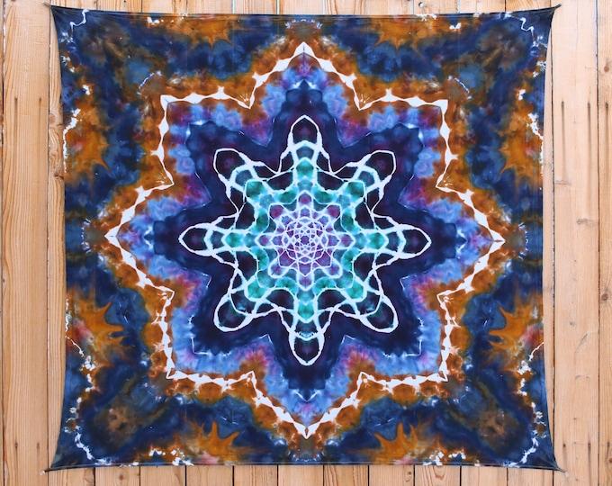 Tie Dye Tapestry | Earthy Mandala