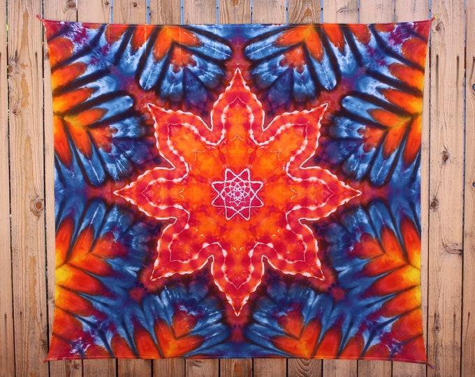 Tie Dye Tapestry | Mandala Tapestry, psychedelic tapestry, mandala wall hanging, bohemian bedroom, sacred geometry, bohemian findings