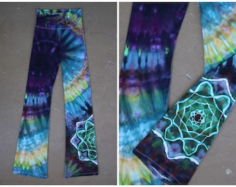 Tie Dye Yoga Pants | Women's Small