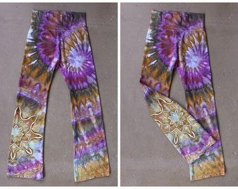 73a6af78984dad Women s Large Tie Dye Yoga Pants