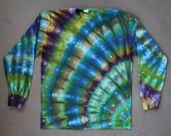 Tie Dye Shirt | Large Long Sleeved