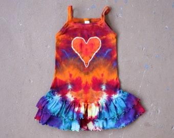 Tie Dye Dress Size 4 | Girl's 4