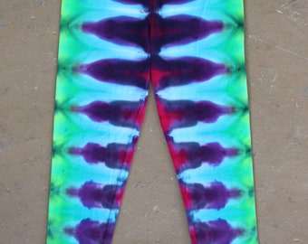 Tie Dye Leggings | Large
