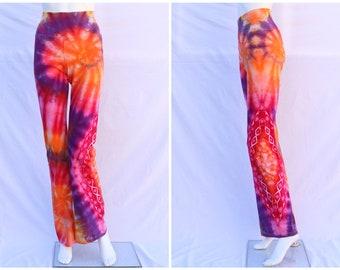 Tie Dye Yoga Pants | Women's Medium