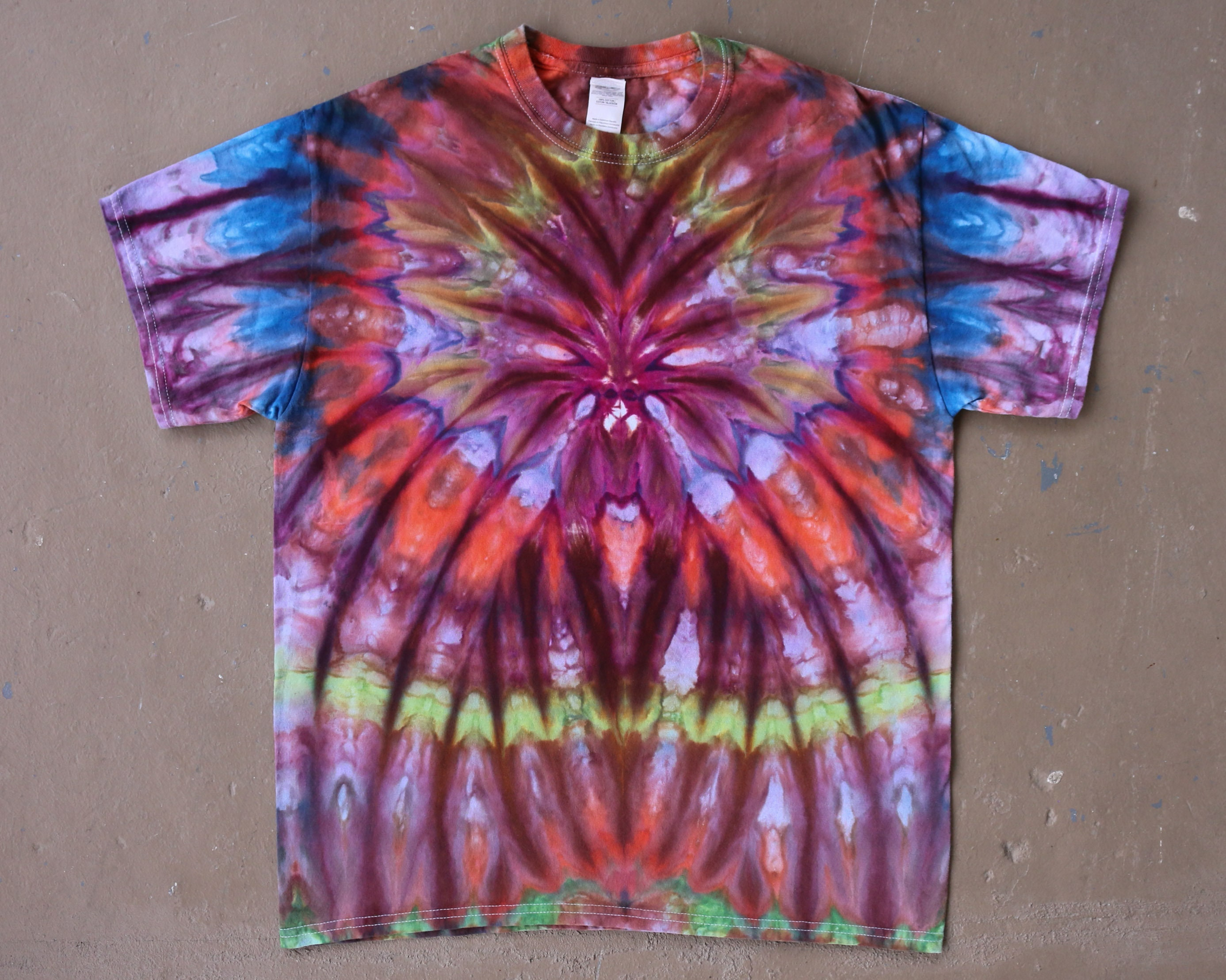 Psychedelic shirt Psy festival shirt Mens patterned shirt Hippie clothes Cool summer shirt Aesthetic clothing Burning man costumes