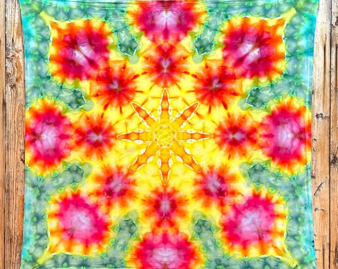 Tie Dye Tapestry   Mandala Tapestry