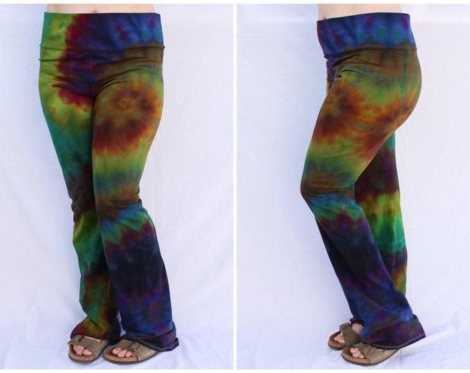 Tie Dye Yoga Pants | 2XL