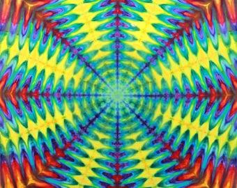 Large Tie Dye Tapestry | Mandala Tapestry, psychedelic tapestry, mandala wall hanging, bohemian bedroom, sacred geometry, bohemian findings