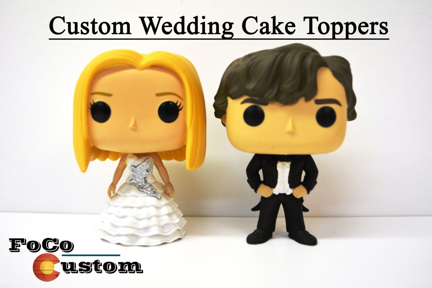 Custom Funko Pop Wedding Cake Toppers Commission Please Send | Etsy