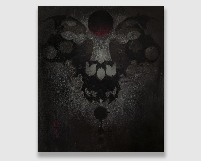 Acrylic on Canvas: Flere Imsaho image 0