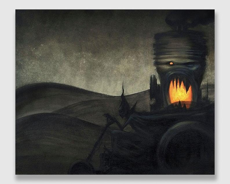 Acrylic on Canvas: Dependency Engine image 0