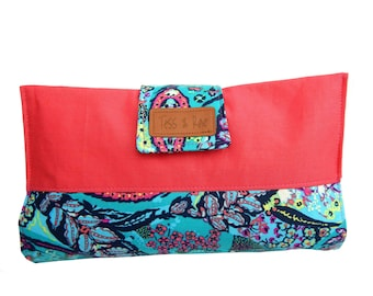 Nappy Wallet, nappy and wipes clutch, baby shower gift.