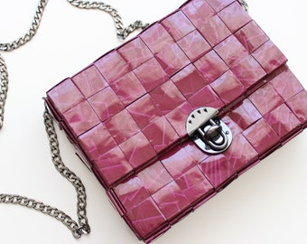 Handmade Paper Shoulder \ Crossbody Bag