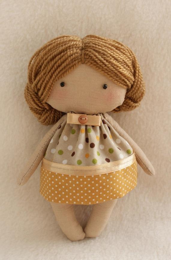 DIY Kit Doll Muster und Materialien zu nähen einfach Olie