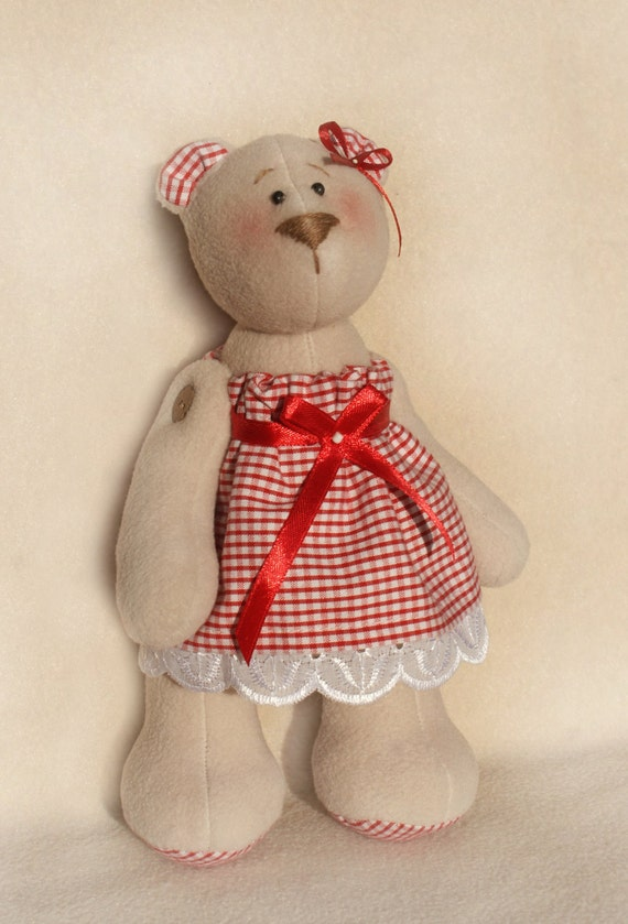 TEDDY SEWING KIT Make Your own Bear Everything included GREAT GIFT IDEA