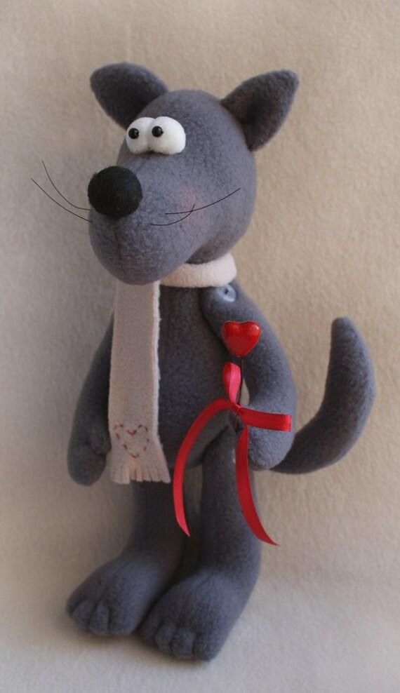 DIY Kit Puppenherstellung Versorgung und Schnittmuster Wolf | Etsy