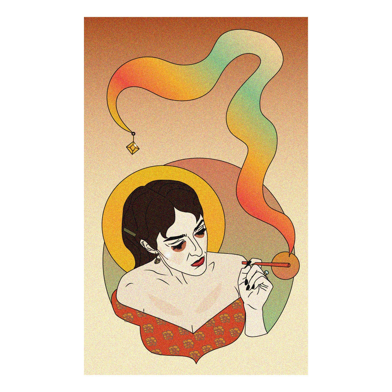 Smoke Me Poster Bohemian Decor Wall Tapestry Hippie Decor